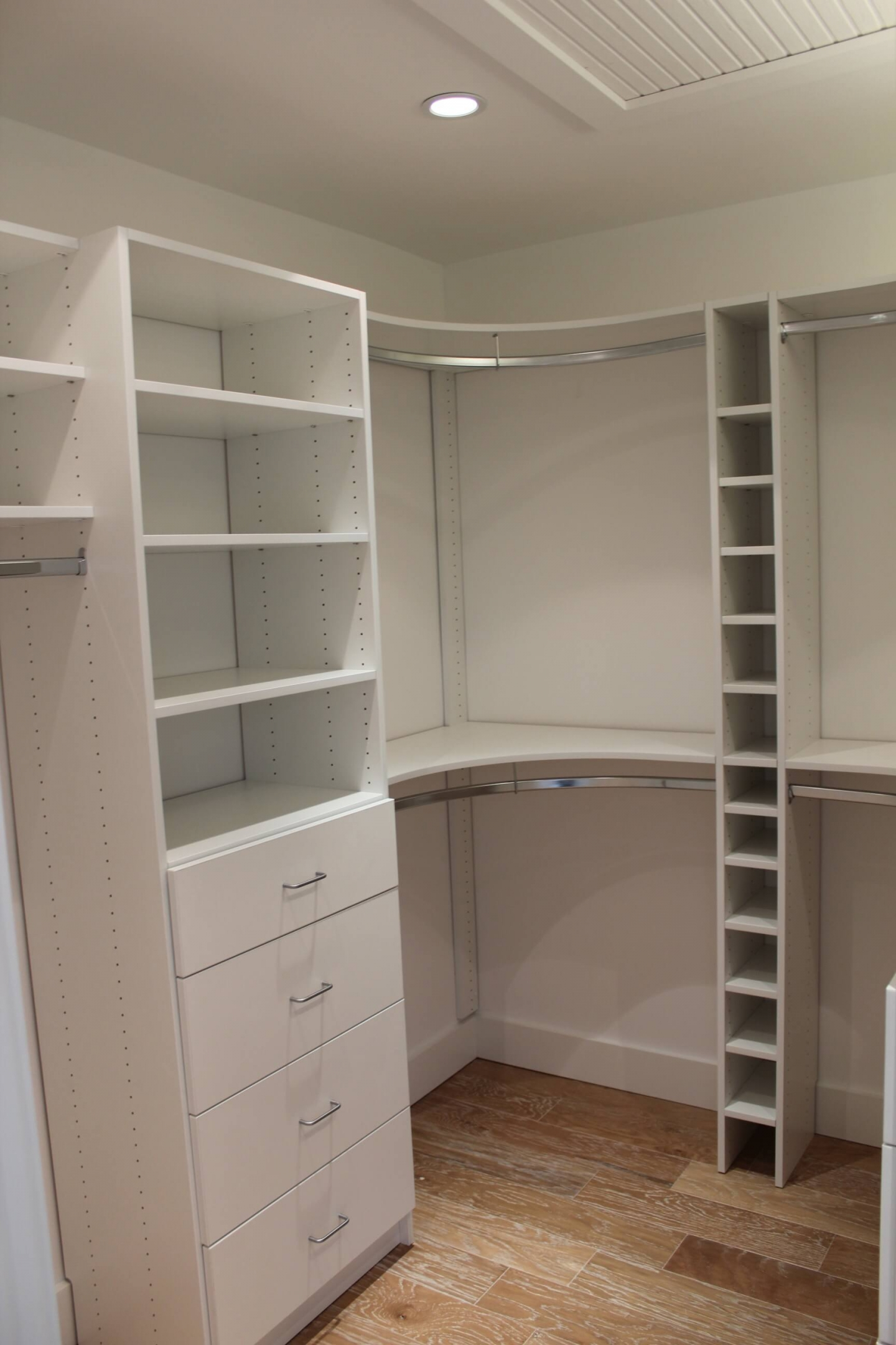 Built in closets and cabinetry